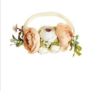 Floral stretch headband 🌷